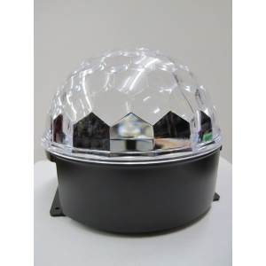 LED Crystal Ball Disco Light