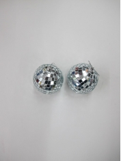 2 Pieces Mirror Balls Set