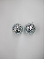 2 Pieces Mirror Balls Set