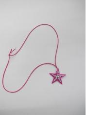Purple Star Necklace