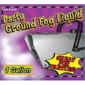 GROUND FOG LIQUID (1 GALLON) - In Store Only
