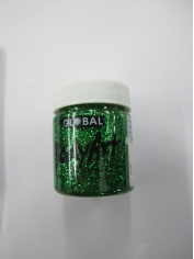 Green Glitter Face Paint 45ml - Make Up