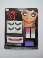 Zombies Doll Set - Halloween Make Up