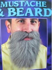 Gray Mustache and Beard- Make Up