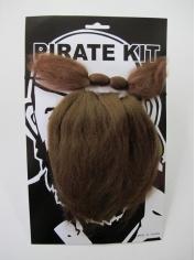 Beard and Mustache Pirate - Make up