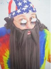 Extra Long Black Beard