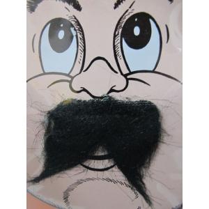 Short Black Moustaches