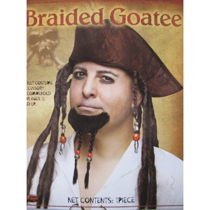 Braided Goatee Mustache - Make Up