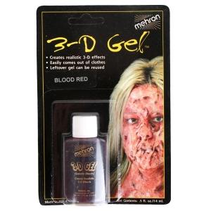 3D Gel Blood Red Carded - Halloween Make Up