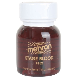 Stage Blood Bright Arterial 30ml - Halloween Makeup