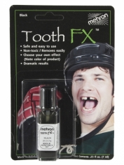 Tooth FX Black Carded 7ml - Halloween Make Up