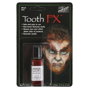 Tooth FX Blood Red Carded 7ml - Halloween Make Up