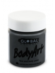 Black Face Paint 45ml - Global Face Paint