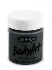 Black Face Paint 45ml - Global Face Paint