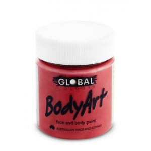Red Face Paint 45ml - Global Face Paint