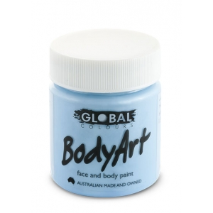 Light Blue Face Paint 45ml - Global Face Paint