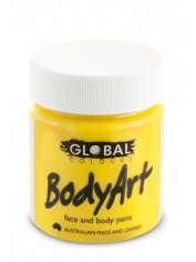 Yellow Face Paint 45ml - Global Face Paint