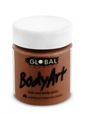 Brown Face Paint 45ml - Global Face Paint