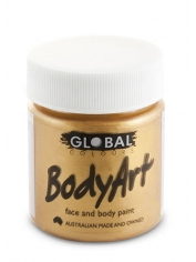 Metallic Gold Face Paint 45ml - Global Face Paint