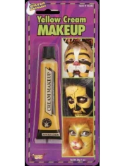 Yellow Face Paint - Make Up