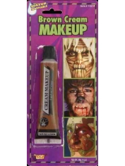 Brown Face Paint - Make Up