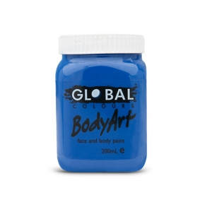 Deep Blue Face Paint 200ml - Global Face Paint