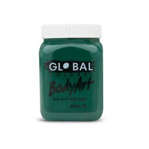Deep Green Face Paint 200ml - Global Face Paint