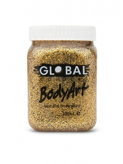 Gold Glitter Face Paint 200ml - Global Face Paint