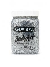 Silver Glitter Face Paint 200ml - Global Face Paint