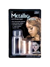 Metallic Gold Powder with Mixing Liquid