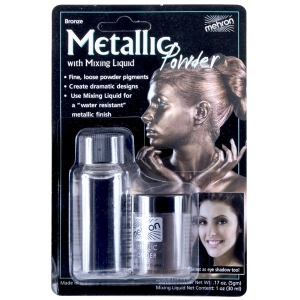 Metallic Bronze Powder with Mixing Liquid