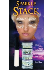 Sparkle Stack IRIDESCENT - Halloween Make Up