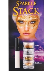 Sparkle Stack Gold - Halloween Make Up