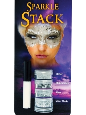 Sparkle Stack Silver - Halloween Make Up