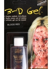 3D Gel Blood Red Carded - Halloween Make Up