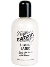 Latex Liquid Clear 133ml - Halloween Make Up
