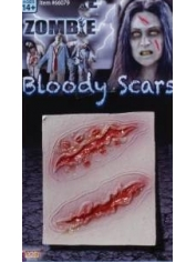 ZOMBIE BLOODY SCARS - Halloween Makeup