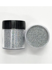 Holographic Glitter Ultra Fine Silver - Face Paint and Glitter