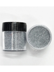 Ultra Fine Glitter Silver - Face Paint and Glitter