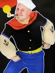 Adult Popeye - Men's Costumes
