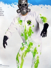 Radioactive Recovery Team Mens Costume