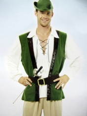 Robin Hood Hunter Mens Costume
