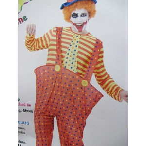 Adult Clown Costume - Mens Costumes