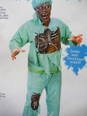 Zombie Doctor - Halloween Mens Costume