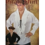 Black Pirate Shirt - Mens Costume