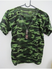 Army Camouflage T-Shirt - Mens Costume