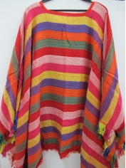 Large Mexican Poncho - Mens Costumes