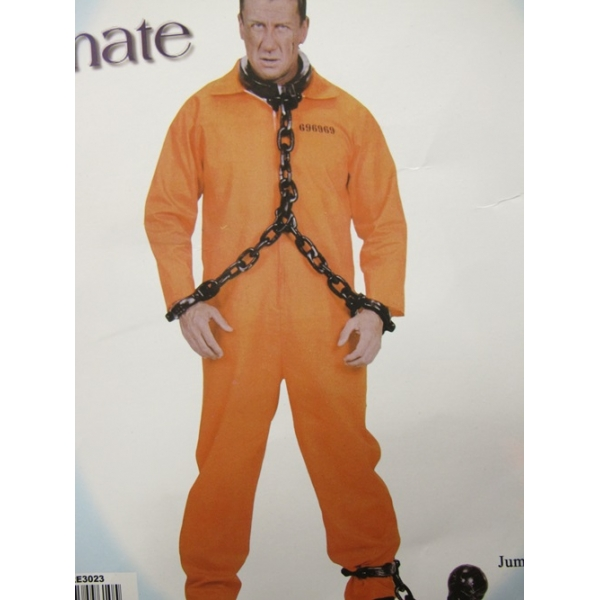 Prison Jumpsuit - Halloween Mens Costumes