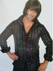 Disco Shirt - Adult Mens Costume