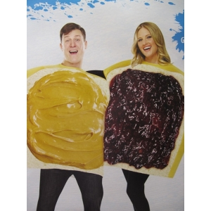 Peanut Butter and Jelly - Party Costumes